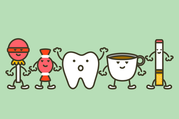 Habits that are Staining Your Teeth | Coral West Dental